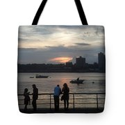 West Side Sunset Tote Bag