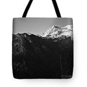 West Slope Mt. Rainier Tote Bag