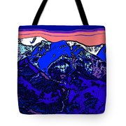 West Spanish Peak- Colorado Tote Bag