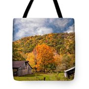 West Virginia Barns  Tote Bag