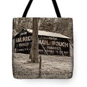 West Virginia Classic Sepia Tote Bag