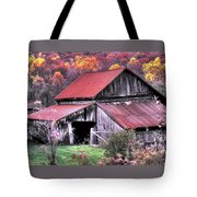 West Virginia Country Roads - Nearing The Threshold Of Yet Another Winter Tote Bag