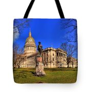 West Virginia State Capitol Building Tote Bag