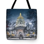 West Virginia State Capitol Tote Bag