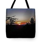 West Virginia Sunset 1 Tote Bag