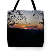 West Virginia Sunset 2 Tote Bag