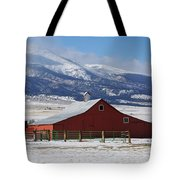 Westcliffe Landmark - The Red Barn Tote Bag