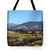 Western California Tote Bag
