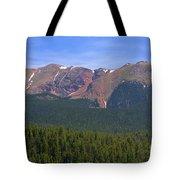 Western Face Pikes Peak Tote Bag