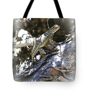 Western Fence Lizard Aka Blue-belly Lizard Tote Bag