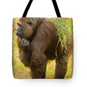 Western Lowland Gorilla Female Tote Bag
