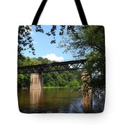 Western Maryland Railroad Crossing The Potomac River Tote Bag