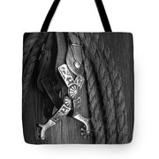 Western Spurs Tote Bag