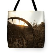 Western Sunset Tote Bag