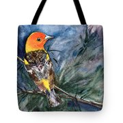 Western Tanager At Mt. Falcon Park Tote Bag