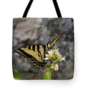 Western Tiger Swallowtail Butterfly 2 Tote Bag