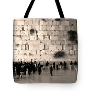 Western Wall Photopaint One Tote Bag