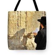 Western Wall Prayer Tote Bag