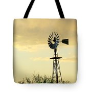 Western Windmill Tote Bag