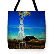 Western Windmill Tote Bag by Steve McKinzie