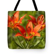 Western Wood Lily Tote Bag