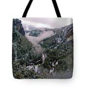 Western Yosemite Valley Tote Bag by Bill Gallagher