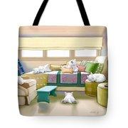 Westie Retreat  Tote Bag