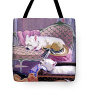 Westies Home Tote Bag