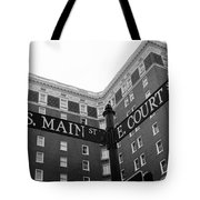 Westin Poinsett Behind S.main And E.court St Tote Bag
