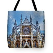 Westminster Abbey - North Transept Tote Bag by Skye Ryan-Evans