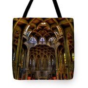 Westminster Abby Tote Bag