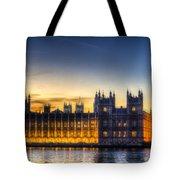 Westminster London Tote Bag
