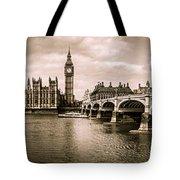 Westminster Pano Mono Tote Bag