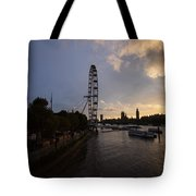 Westminster Sunset Tote Bag