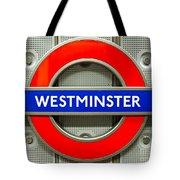 Westminster Underground Logo Tote Bag