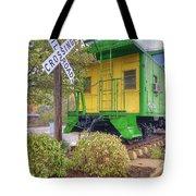 Weston Railroad Crossing Tote Bag
