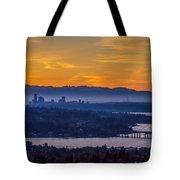 Gateway To Seattle Tote Bag