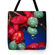 Wet Berries Tote Bag by Kaye Menner
