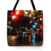 Wet City Tote Bag