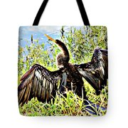 Wet Feathers Tote Bag