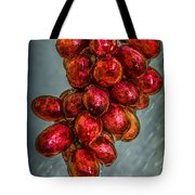Wet Grapes Four Tote Bag