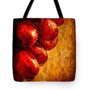 Wet Grapes Three Tote Bag