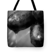 Wet Grapes Two Tote Bag