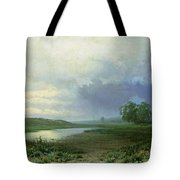 Wet Meadow Tote Bag