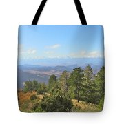 Wet Mountain Valley And Beyond Tote Bag