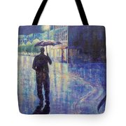 Wet Night Tote Bag by Susan DeLain