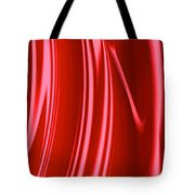 Wet Red Tote Bag