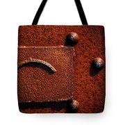 Wet Rust Tote Bag