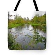 Wetland Greens Tote Bag