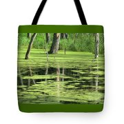 Wetland Reflection Tote Bag